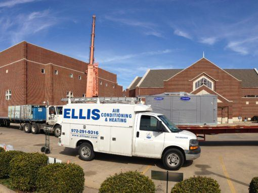 Church Complete HVAC Installation